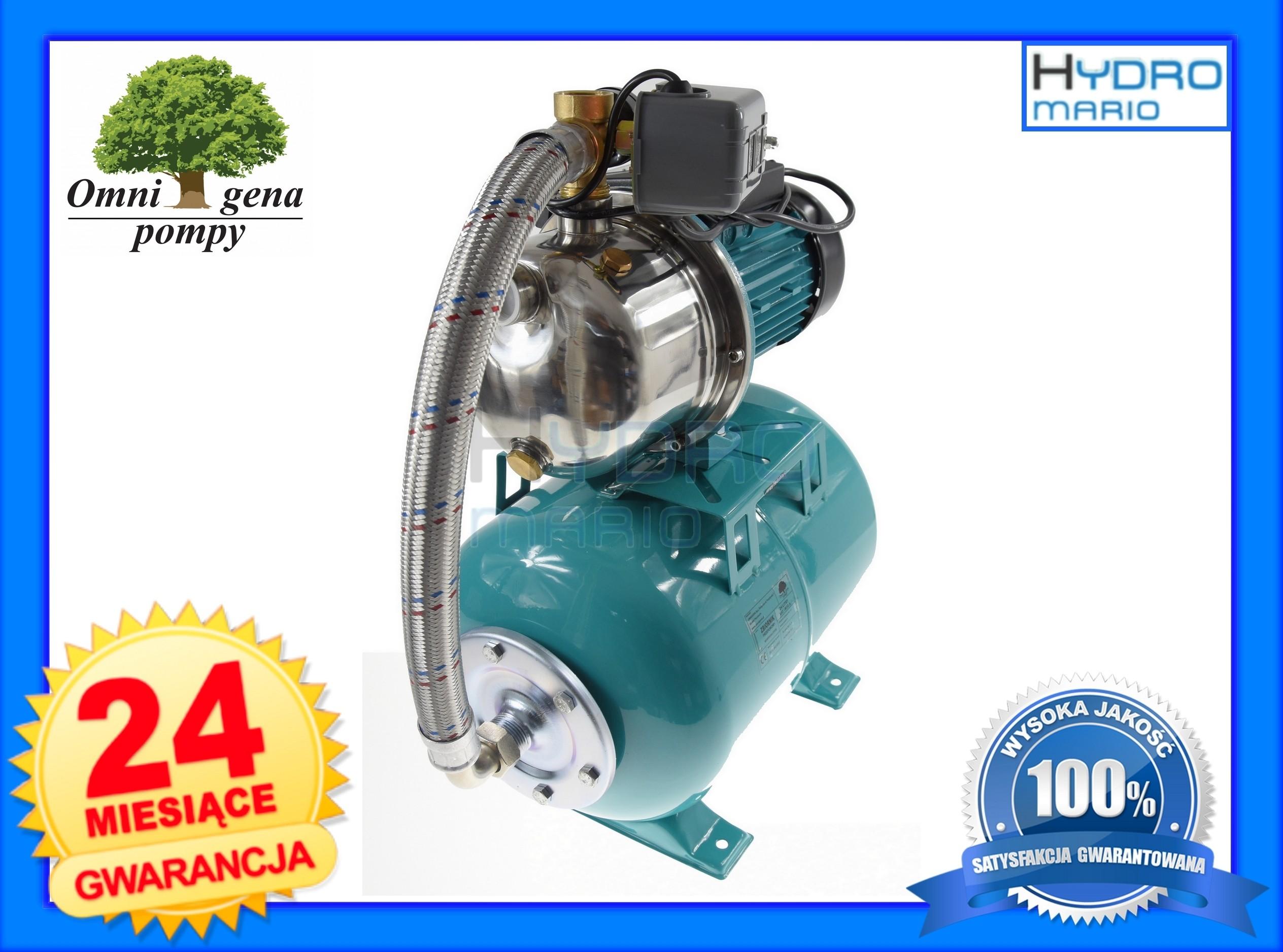 Podłączenie zbiornika ciśnieniowego